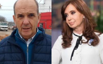 Intendente de Pehuajó apoyó a Cristina y Florencia Kirchner: