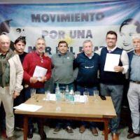 Presentaron el Movimiento por una Mar del Plata con Trabajo y Gestión