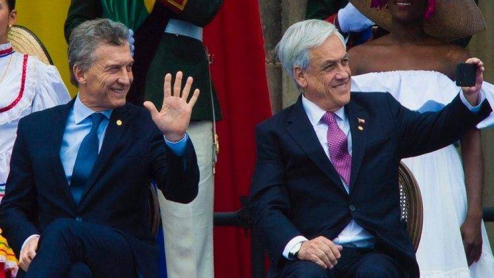 Mauricio Macri viaja a Chile para participar en la creación del Prosur y redoblar la ofensiva diplomática contra Nicolás Maduro
