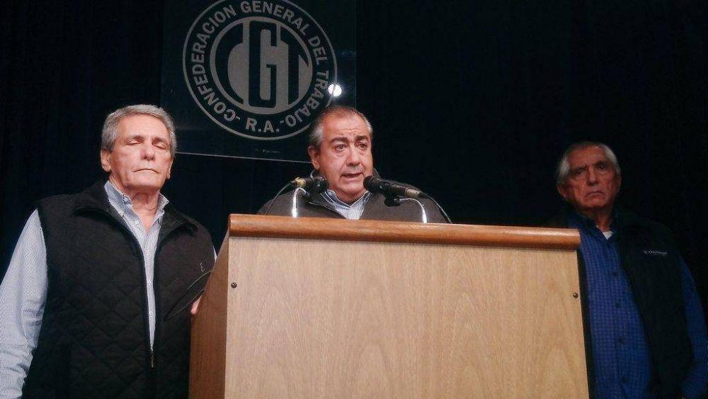 """La CGT confirmó que marcha el 4 de abril y pidió """"otro gobierno"""" a partir de diciembre"""