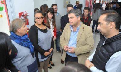 Tagliaferro y López Medrano inauguraron el primer Centro de Primera Infancia de Morón