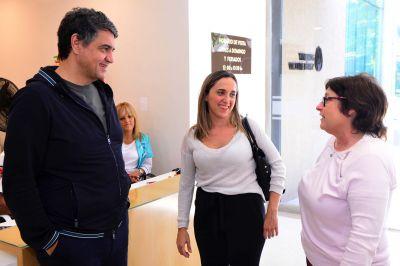 Jorge Macri recorrió el avance de las obras en el Geriátrico Municipal junto a Graciela Ocaña