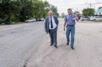 Comenzó la obra de ensanchamiento de la avenida Constitución