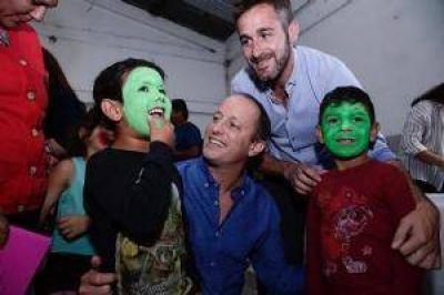 Con Insaurralde, Achával lanzó una liga de fútbol