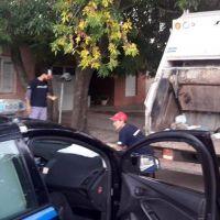 Cruel irresponsabilidad en Casilda afectó a un trabajador