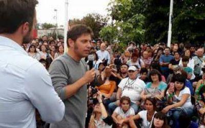 Elecciones 2019: Kicillof continúa de recorrida por la provincia y desembarca en La Madrid, Pringles y Laprida