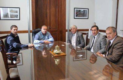 Por financiamiento productivo, Sánchez recibió a gerentes del Nación
