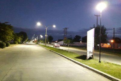 Sigue la instalación de iluminación Leds en la ciudad
