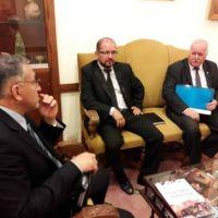 Senadores del bloque FCS-Cambiemos se reunieron con Lucía Corpacci