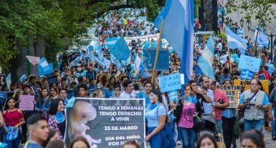 Salteños marcharon contra el aborto