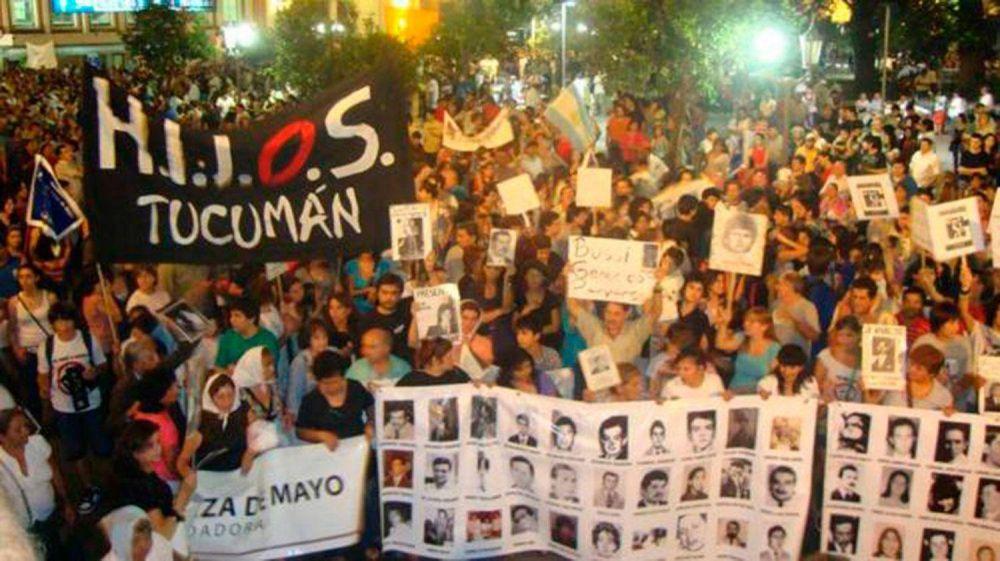 Día Nacional de la Memoria, por la Verdad y la Justicia, los actos en Tucumán