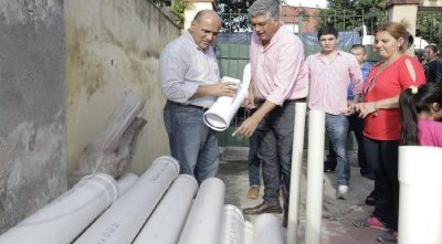 Barrio Obispo Piedrabuena: las obras de la SAT benefician a más de 200 personas