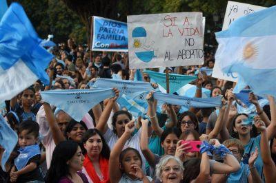 Mendoza también tuvo una multitudinaria convocatoria en la Marcha Por La Vida