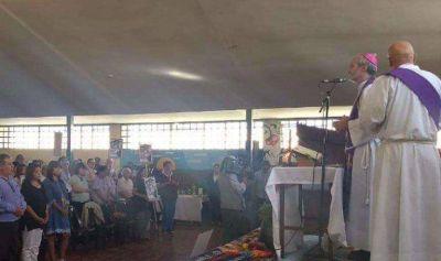 El obispo Gustavo Braida ofició una misa en el Servicio Penitenciario por el Día de la Memoria