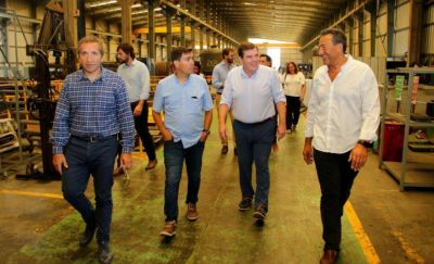 """Montenegro: """"Hay que cambiar de raíz la lógica del Parque Industrial"""""""