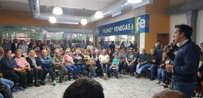 Arturo Rojas: Timbreo y reunión en el partido FE