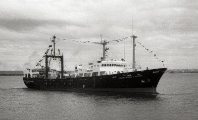 El buque Holmberg del Inidep será reparado en el astillero Tandanor