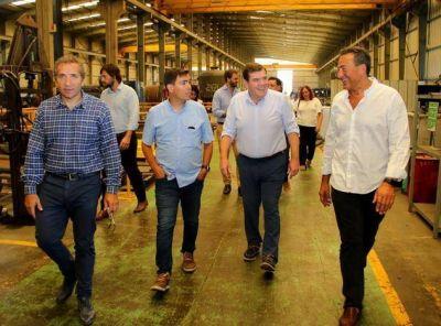 Guillermo Montenegro impulsa un Parque Industrial autónomo y autárquico