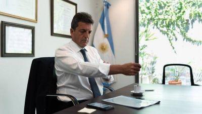 Sergio Massa denunció un robo en sus oficinas del centro porteño