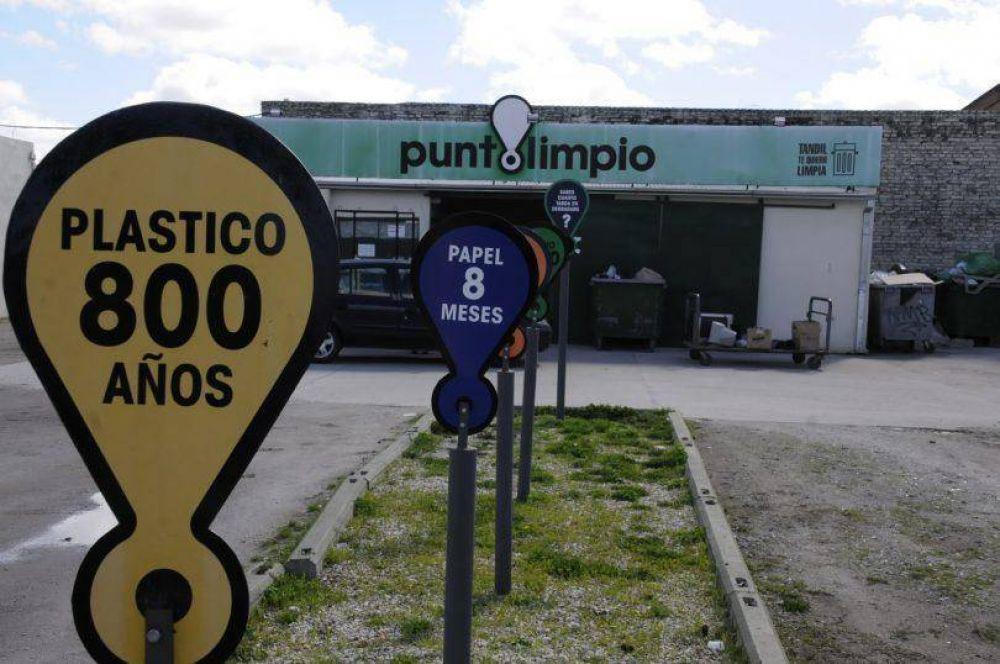 Durante 2018, la red de Puntos Limpios recibió más de 680 mil kilos de residuos