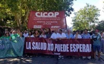 """Cicop advierte con medidas que expongan """"los padecimientos"""" a causa de la """"crisis en la salud"""""""