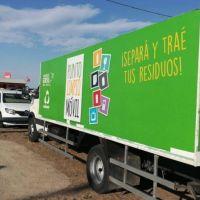 Vuelve el Punto Limpio Móvil de GIRSU a Playa Unión