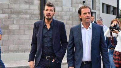 Marcelo Tinelli continúa sus encuentros con dirigentes del peronismo bonaerense: recorrió Escobar