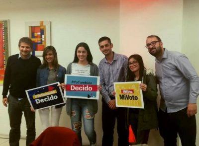 """Presentaron la iniciativa """"Primer Votante"""" para quienes votan por primera vez"""