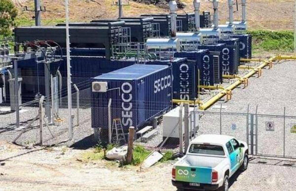 Ponen en marcha la planta para generar electricidad a partir de energía renovable