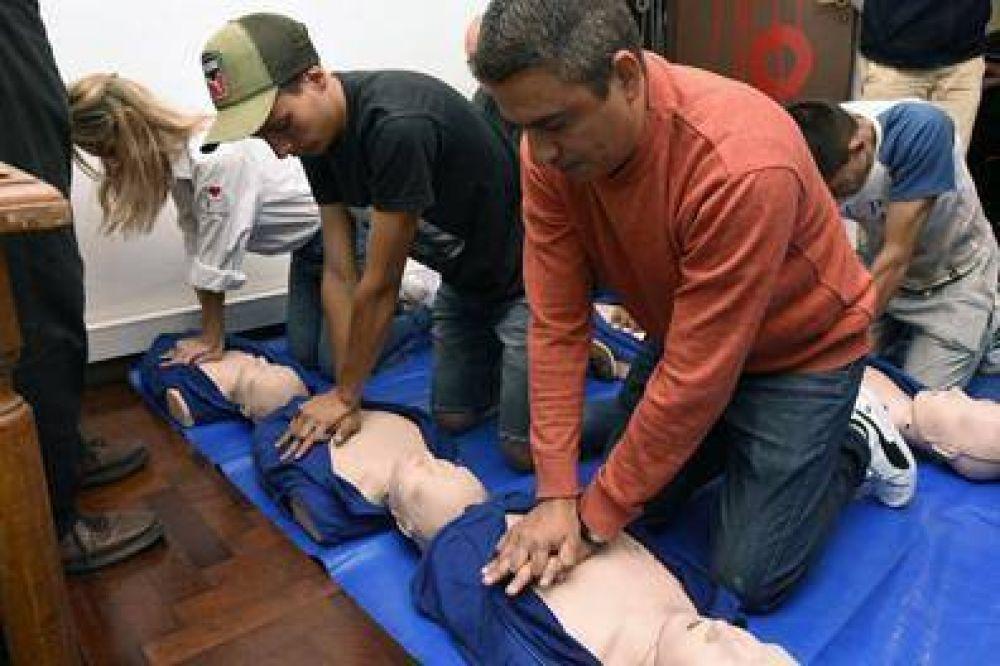 La UTTA realizó una capacitación en San Isidro