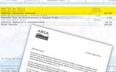 Sorpresa para miles de usuarios de ABSA que recibieron un ajuste retroactivo de marzo