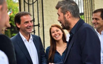 Tinelli va por el territorio de Vidal: recorrida con intendente peronista y