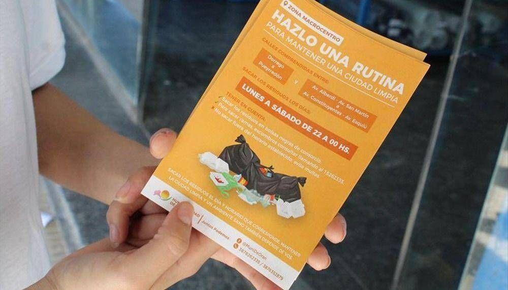 El desafío de la basura llega con premios para vecinos que cuiden el medio ambiente.
