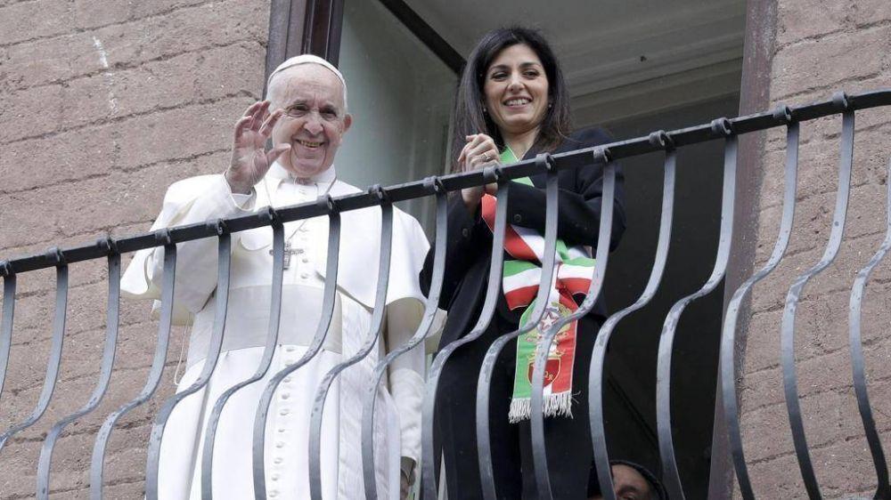 El Papa en el Campidoglio: que el esplendor no se degrade y que Roma sea maestra de acogida