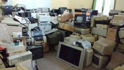Se termina la 13ª campaña de Recolección de Residuos Tecnológicos