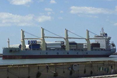Habría acuerdo para el paso de los camiones que trasladan los Molinos eólicos