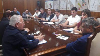 Peppo recibió a las 62 Organizaciones Peronistas que le presentaron su candidato a diputado