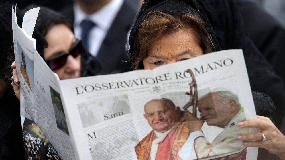 """Protesta en """"L'Osservatore Romano"""", las redactoras renuncian. Estupor de Monda: """"Siempre se ha garantizado total libertad"""""""