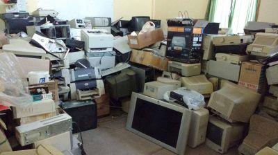 Este viernes 29-03 termina la campaña de recolección de residuos tecnológicos