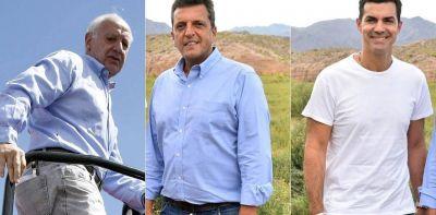 Seis encuestas y un dato clave: cómo está la pelea entre Roberto Lavagna, Sergio Massa y Juan Manuel Urtubey
