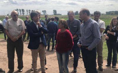 Insaurralde apura su campaña en la provincia con recorridas y reuniones en el interior