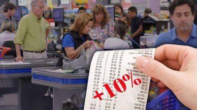 Golpe a golpe: supermercados preparan un nuevo aumento de 10% promedio en alimentos