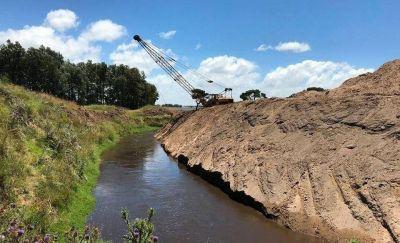 Avanzan las obras hidráulicas que benefician a 35.000 hectáreas