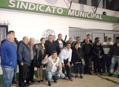 Municipales: dirigentes gremiales de la zona se reunieron para evaluar la situación salarial