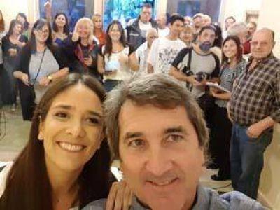 Alejandro Issin lanzó su precandidatura a intendente e inauguró un local partidario