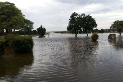 Más de 200 mm y campos otra vez anegados en Chaco, Santa Fe y Santiago del Estero