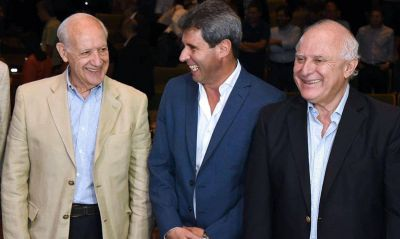 Lavagna felicita a Uñac, miembro de su mini liga de gobernadores