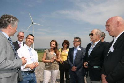 Bonfatti, con la mirada puesta en las energías renovables