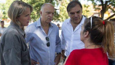 Grindetti, Gladys González y Otero, juntos en Gerli
