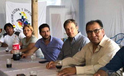 Cascallares se reunió con el Embajador de Bolivia
